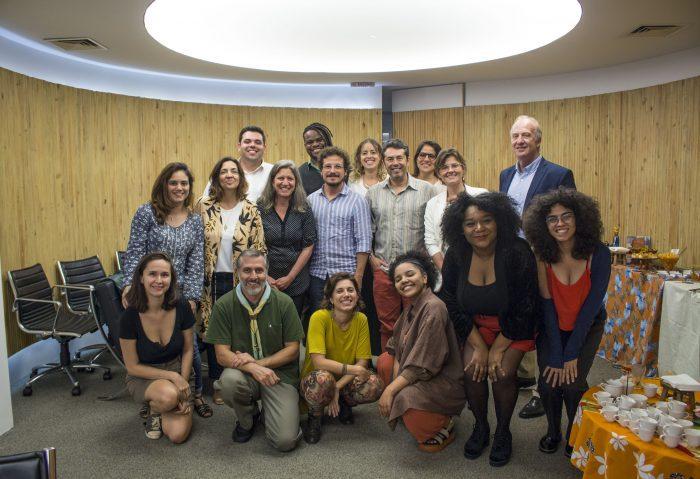 Integrantes do projeto Atlas da Juventude, realizado pela FGV Social
