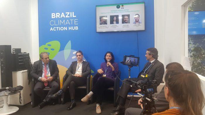 Amazônia Possível promove debate sobre combate à ilegalidade na Amazônia durante a COP25 em Madri