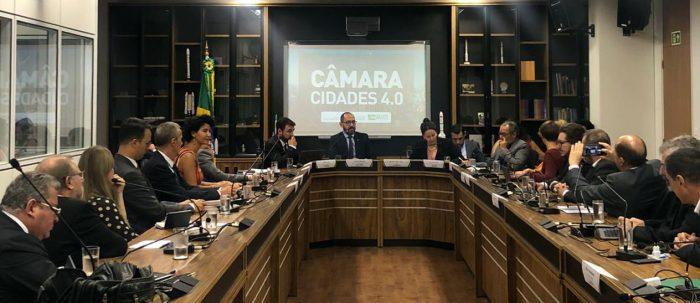 Primeira reunião da Câmara de Cidades 4.0