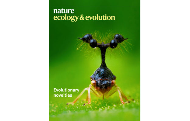 Capa da revista Nature Ecology & Evolution