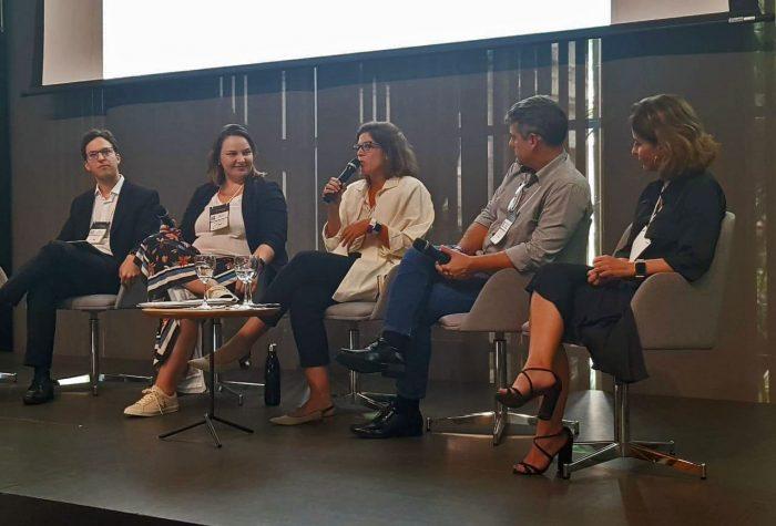 Renata Piazzon na Converge Capital Conference no Rio de Janeiro