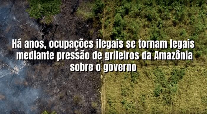 Vídeo da campanha Seja Legal com a Amazônia