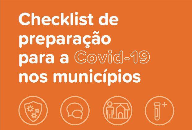 Checklist de preparação para o coronavírus nos municípios