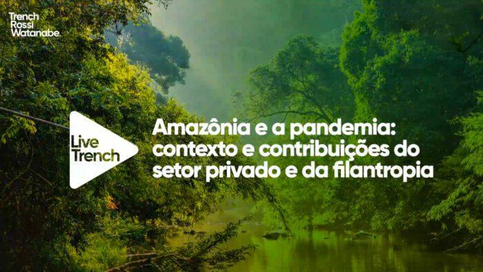 Amazônia e a pandemia: contexto e contribuições do setor privado e da filantropia
