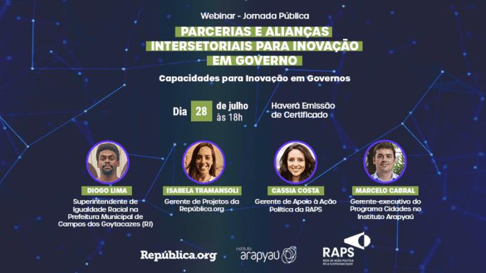 Por que todos ganham em parcerias intersetoriais para a inovação em governo