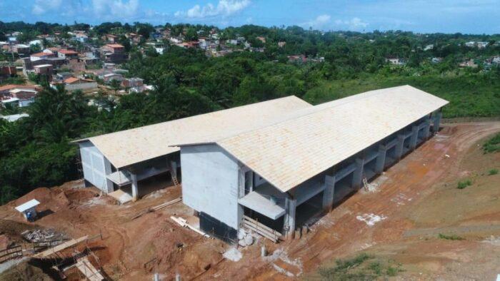 Obras da Nova Escola seguem em ritmo acelerado