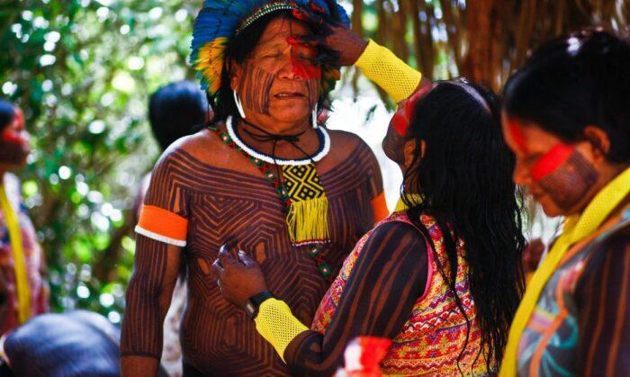 ISA estrutura Unidades Indígenas de Infecção Respiratória